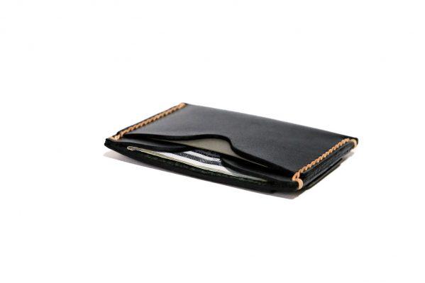 Front Pocket Wallet Vegetable Chrome Black 061