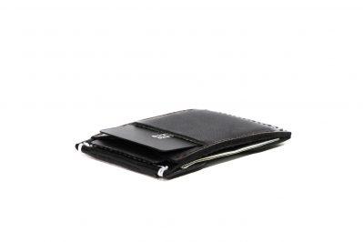 Front Pocket Wallet   Vegetable Chrome Black 2