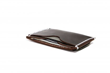 Front Pocket Wallet Vegetable Chrome Hickory Brown 061