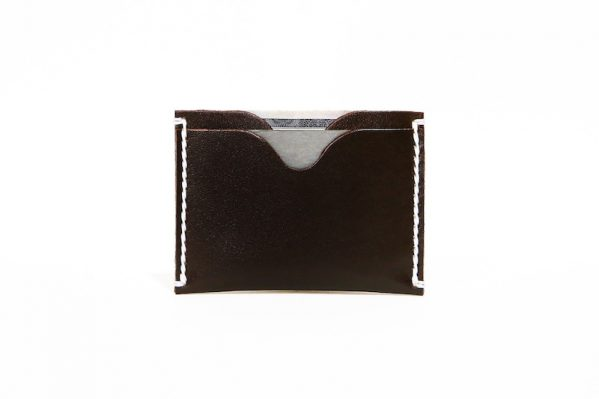 Front Pocket Wallet Vegetable Chrome Hickory Brown