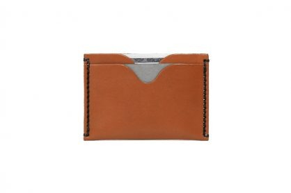 Front Pocket Wallet Vegetable Chrome Honey