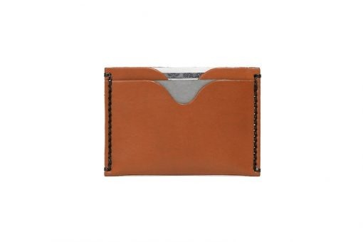 Front Pocket Wallet Vegetable Chrome Honey