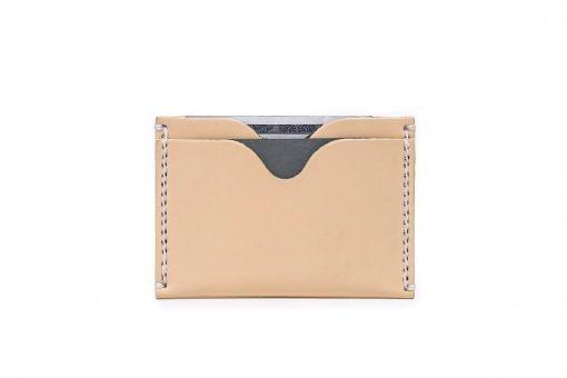 Front Pocket Wallet Vegetable Chrome Natural