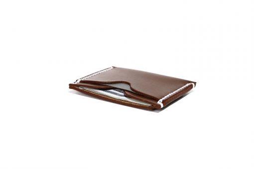 Front Pocket Wallet Vegetable Chrome Whiskey