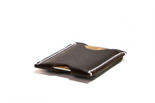 Minimalist Money Clip Wallet Vegetable Chrome Hickory White