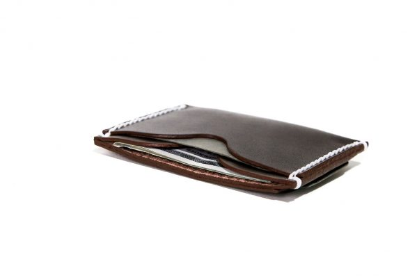 Minimalist Wallet Hickory Brown