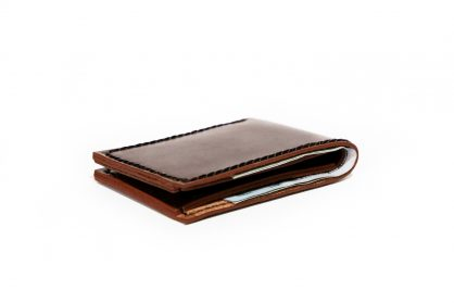 90f7beff86 Slim Mens Wallet Bifold | Vegetable Chrome Leather [FREE SHIPPING]