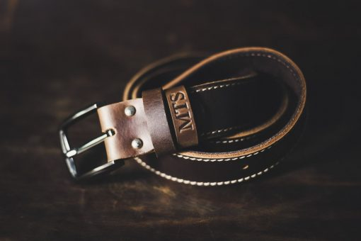 Gunslinger Leather Belt