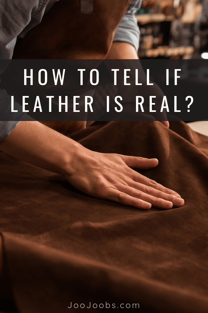 How to tell if Leather is Real