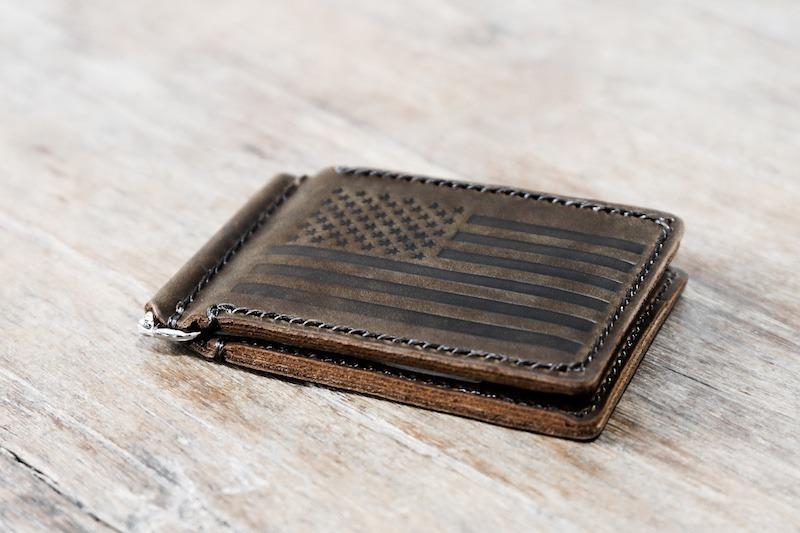 American Flag Money Clip Wallet 1