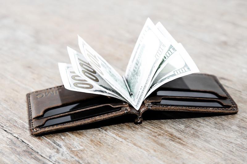American Flag Money Clip Wallet 2