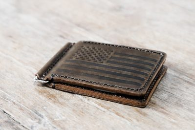 American Flag Money Clip Wallet