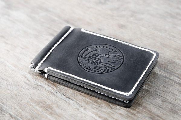 California Money Clip Wallet