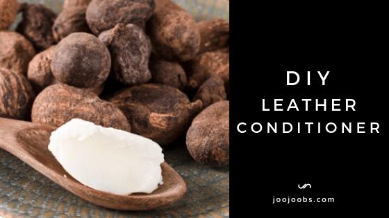 DIY Leather Conditioner