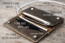 Leather Biker Wallet (Long) 2