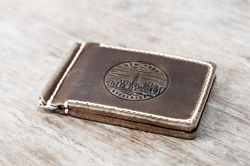New York Money Clip Wallet