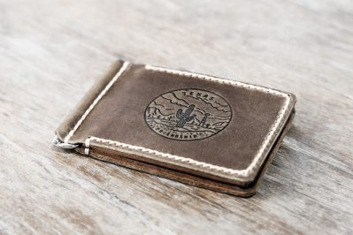 Texas Money Clip Wallet
