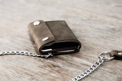Trifold Wallet with Chain 1