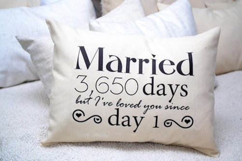 Cotton Love Story Pillow