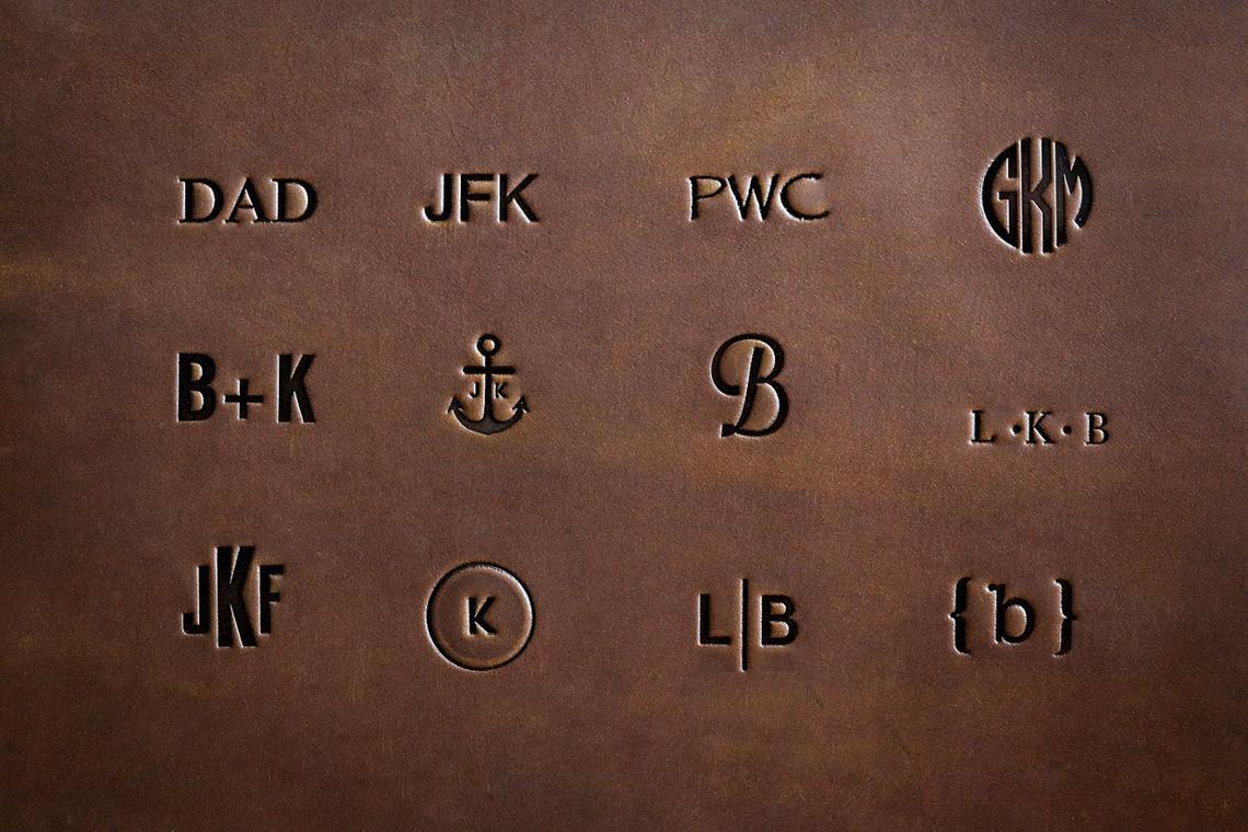 Monogram samples
