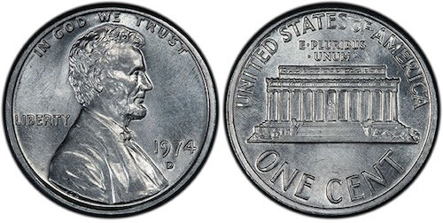 1974 penny