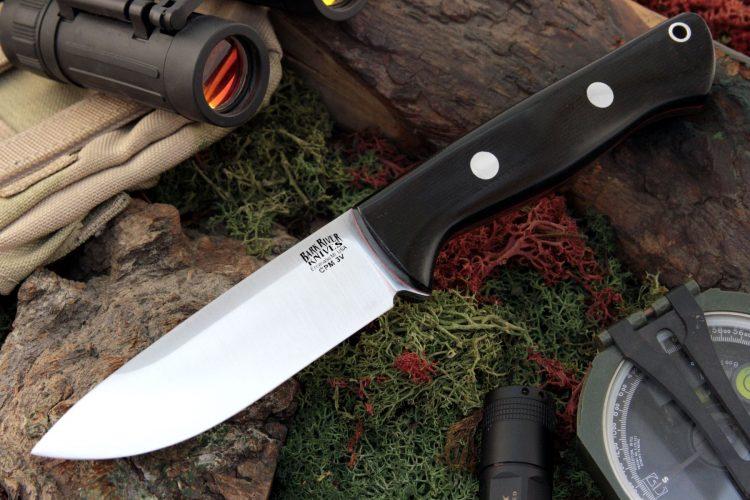 Bark River Bravo 1 LT Rampless Fixed Blade Knife