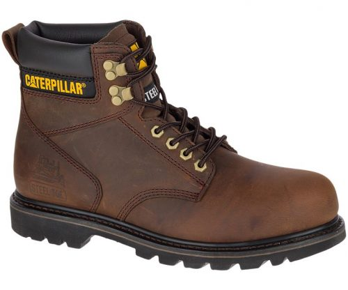 Caterpillar Men's 2nd Shift Steel Toe Boots