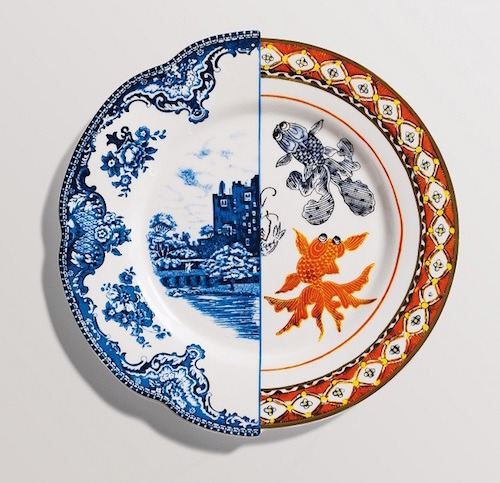 East Meets West in Hybrid Dinnerware Collection by CTRLZAK Studio for Seletti