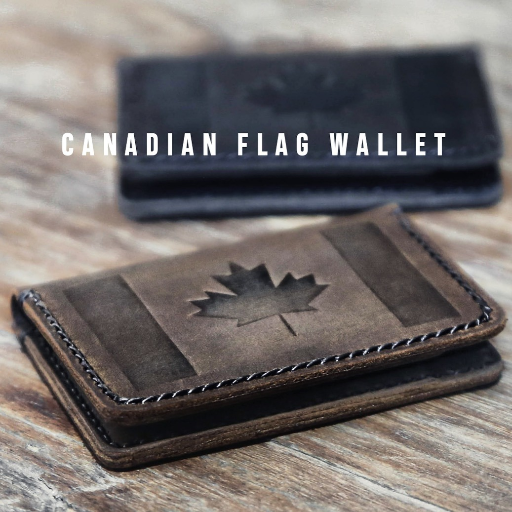 Canadian Flag Wallet