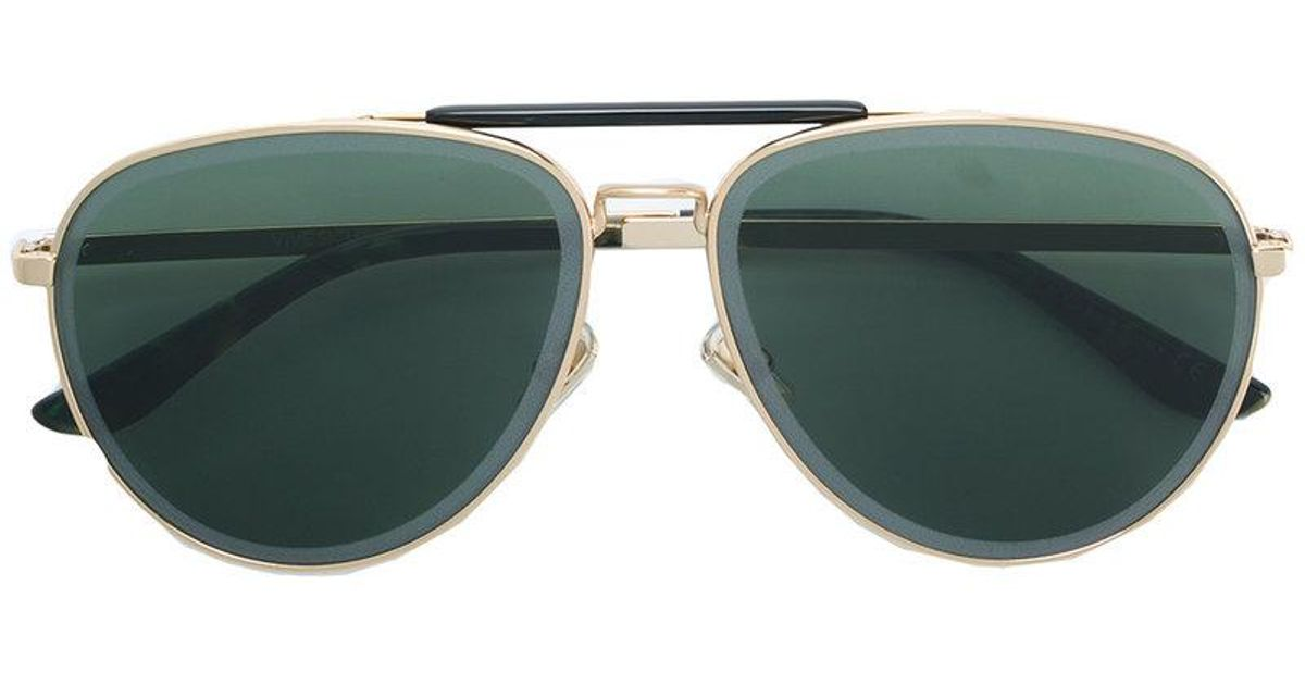 JIMMY CHOO EYEWEAR Fin 63 aviator sunglasses