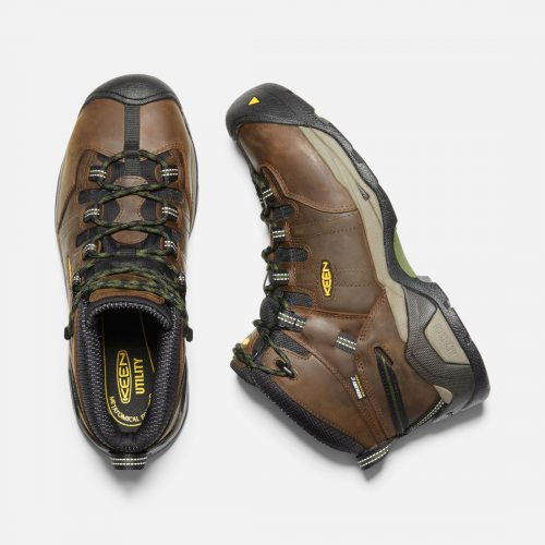KEEN Men's Detroit XT Mid Steel Toe Work Boots