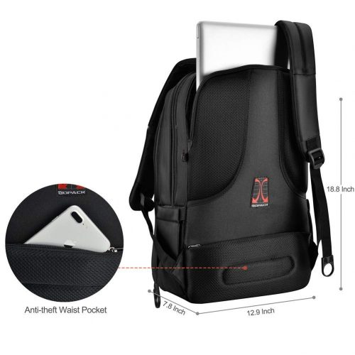 Kopack Deluxe Waterproof Laptop Backpack