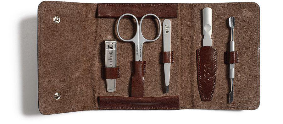 Alpen Italian Leather Manicure Kit