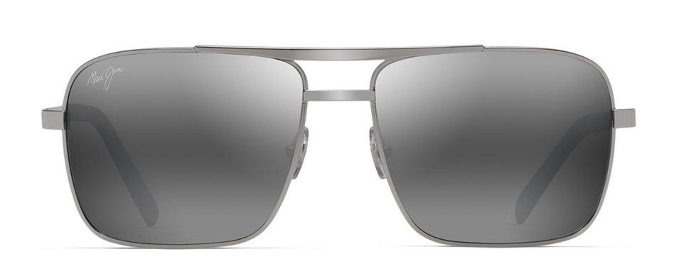 Maui Jim Compass Polarized Aviator Sunglasses