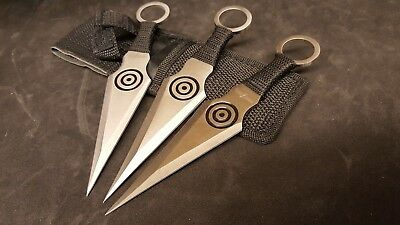 Perfect Point 3 pc. Throwing Knife Set PP-028-3BK