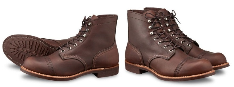 Red Wing Shoes Iron Ranger Work Boots