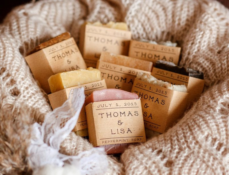 Soap Rustic wedding favor