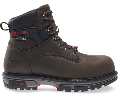 Wolverine Nation Durashocks Carbonmax Work Boots