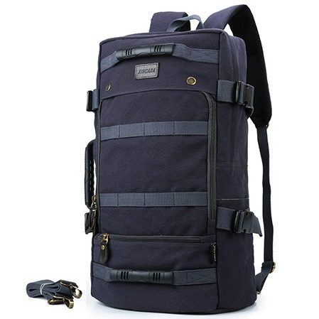 XINCADA Backpacks Vintage Canvas Backpack Travel Backpack Military Tactical