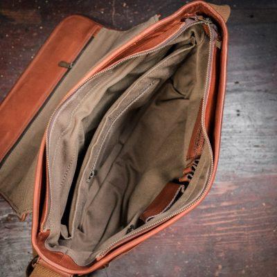 Buffalo Jackson Roosevelt Buffalo Leather Satchel