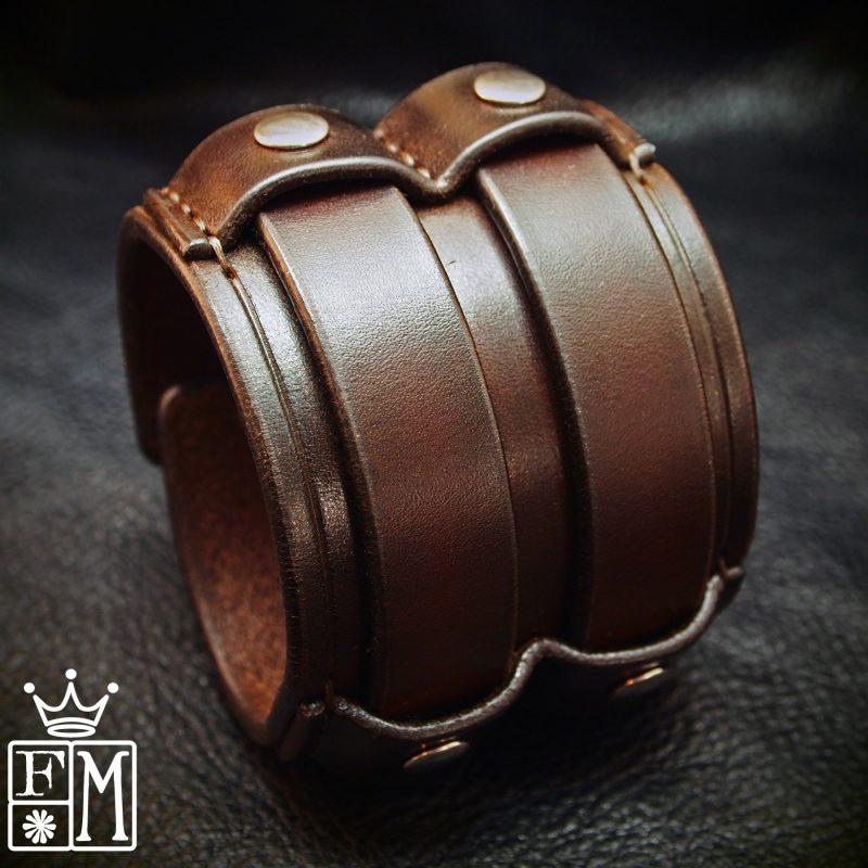 Freddie Matara Leather Cuff Bracelet