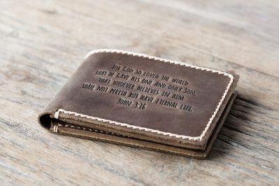 John 3-16 Wallet