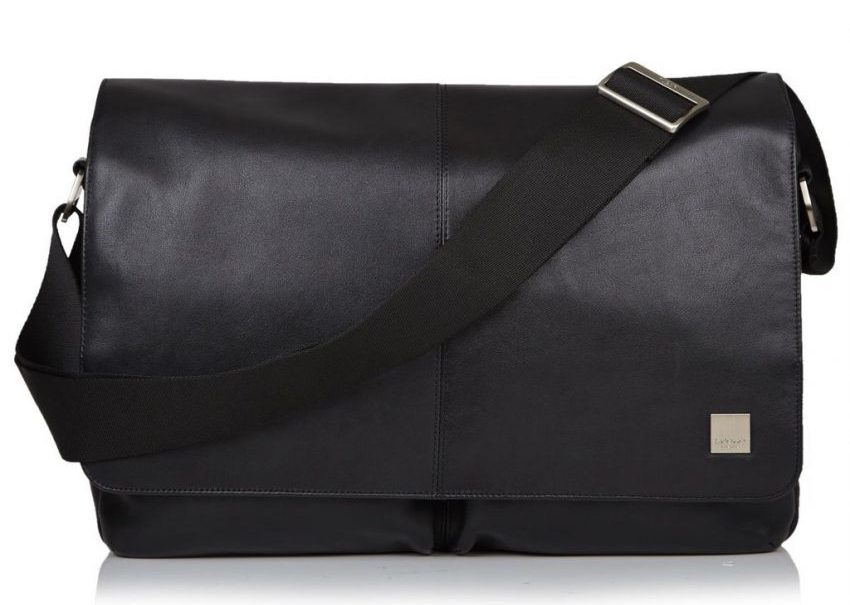 KNOMO London Brompton Kobe RFID Leather Messenger Bag2