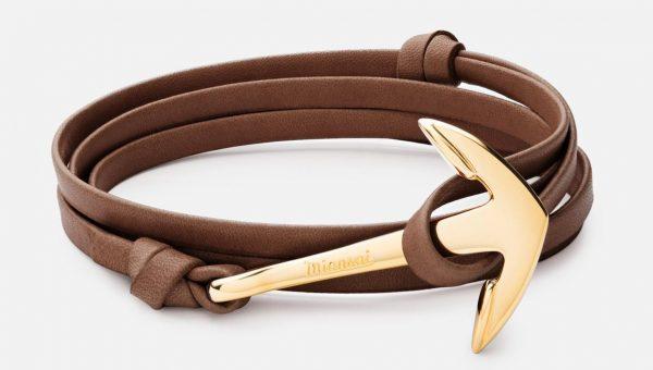 Miansai Anchor Half-Cuff Bracelet