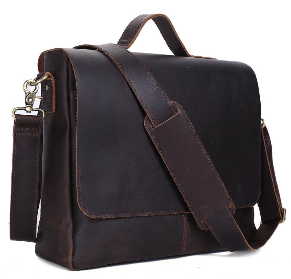 Pratt Leather Maurice Messenger Bag2
