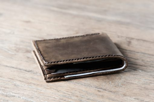 The Bigger Texas - Handmade Manly Mans Leather Wallet