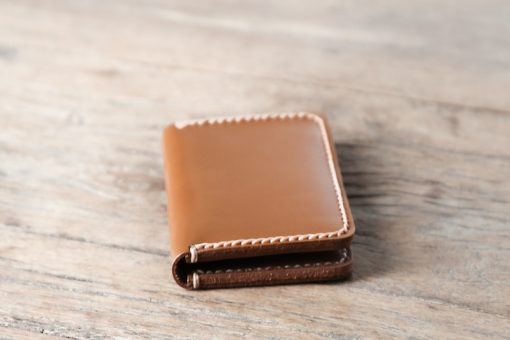 Front view of the credit card wallet