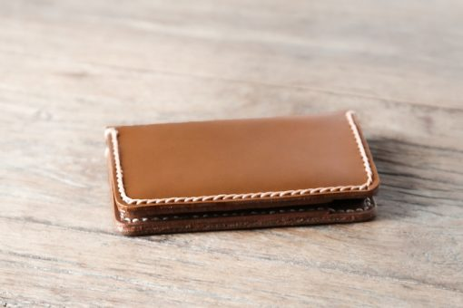Side view of the credit card wallet