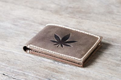 Pot Leaf Wallet