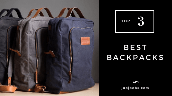 Top 3 best backpacks